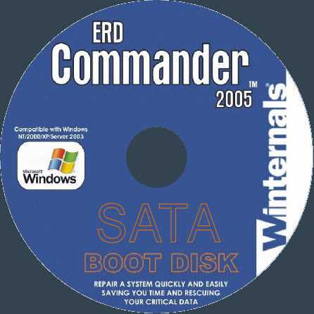 Microsoft Windows MSDaRT ERD Commander