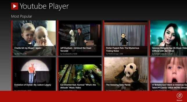 приложение ютуб для Windows 10 скачать бесплатно - фото 10