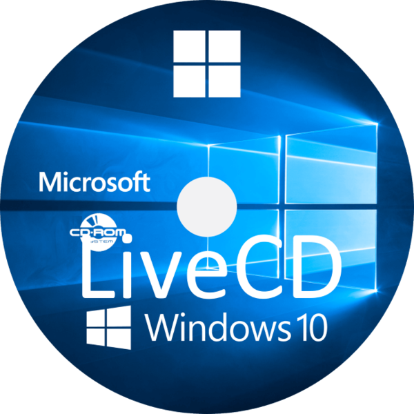 Windows 10 Live Cd для Usb флешки