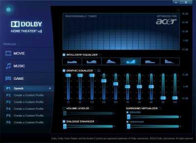 Dolby Advanced Audio