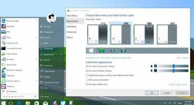 Как вернуть старый Пуск на Windows 10