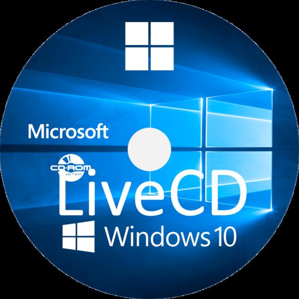 Windows 10 Live Cd для Usb флешки