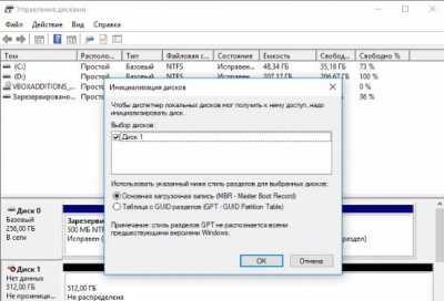 Windows 10 не видит жёсткий диск