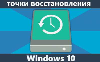 Точка восстановления Windows 10